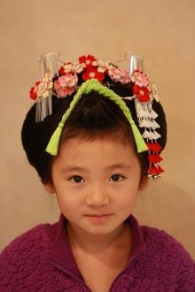 可愛く健やかにご成長の記念のお手伝い|hair stage O2 紫野店のヘアスタイル