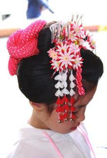七つ詣り|hair stage O2 紫野店のヘアスタイル