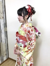 きれい成人式スタイル|Hygge〜ヒュッゲ〜/富士市美容室・富士市美容院・松岡のヘアスタイル