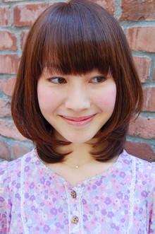 キューティミディ|SIECLE hair&spa 渋谷店のヘアスタイル