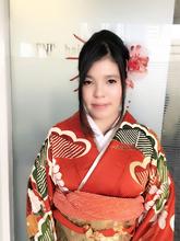 成人式まとめ髪アップスタイル!!|KENJI hair collection's 西宮店のヘアスタイル