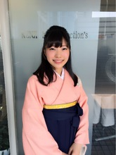 清楚系スッキリサイドまとめ髪スタイル!!|KENJI hair collection's 西宮店のヘアスタイル