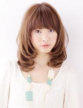 愛されシフォンパーマ|Libra hair spa 羽倉崎店のヘアスタイル