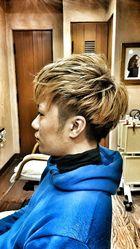 がんちゃん風イケメンショート madameのメンズヘアスタイル