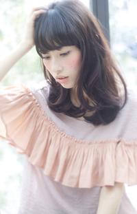 【Maria by afloat】吉澤侑子 小顔ふわミディメルティカラー抜け感スタイル