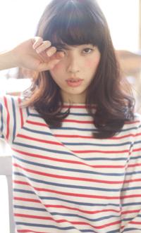 【Maria by afloat】吉澤侑子 イノセントカールAライン暗髪ミディ
