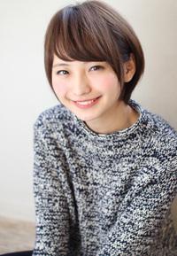 ひし形大人ショートボブ M746