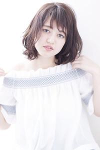 【Maria by afloat】ニュアンスカールのひし形大人ボブ♪
