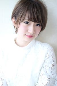 ひし形小顔大人ショート M785