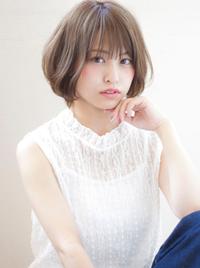 【担当 添田】お手入れ楽チンワンカールショートボブs-409