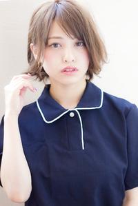 【担当 添田】外ハネミックスなカジュアルショートボブs-412