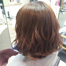 ピンクベージュ|MEGAMI BeautyShop 西淀川区 塚本店のヘアスタイル