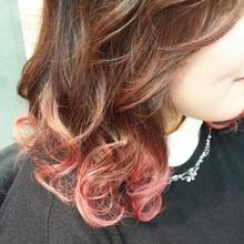 ロコル ピーチ|MEGAMI BeautyShop 西淀川区 塚本店のヘアスタイル