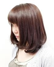 ピンクブラウン|MEGAMI BeautyShop 西淀川区 塚本店のヘアスタイル