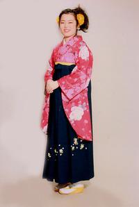 セット着付+レンタル袴・二尺袖・写真まで