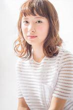 短めバング×外ハネのナチュ可愛ボブ|MINX aoyamaのヘアスタイル
