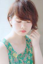 透明感と柔らかさのでるブルージュショートボブ☆|MINX aoyamaのヘアスタイル
