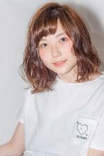 ショートバングがオシャレなサマーウェーブ|MINX aoyamaのヘアスタイル