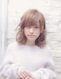 前髪が可愛い柔らかい質感の愛されヘア☆