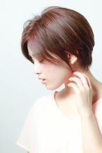 柔らかくて洗練されたショートボブ|MINX 銀座店のヘアスタイル