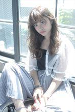 大人気イルミナカラーで作るブルージュロング|MINX harajukuのヘアスタイル