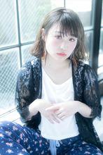 サマーヘルシーカジュアルボブ|MINX harajukuのヘアスタイル