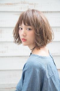 【MINX 原宿 人気ヘア】ナチュラル×ピュアなエフォートレスボブ