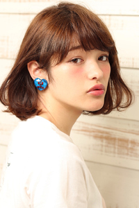 【MINX】前髪ありのワンカールボブ!