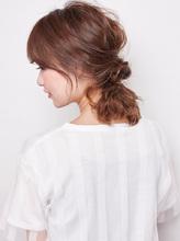 リッジカールでつくるまとめ髪|NATURAのヘアスタイル