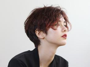 ニュアンスバング Of HAIR 銀座店のヘアスタイル