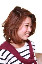ナチュラルミディスタイル|OLIVE Hair Luceのヘアスタイル