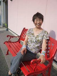Nice Pose Mrs.Hideko!