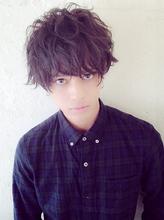 『ルーズパーマ』×『ダークアッシュ』 pizzicatoのメンズヘアスタイル