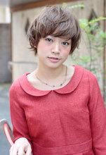 アクティブな外国の少女風☆コンサバ系にもOKなやんちゃショート|P's -hair atelier-のヘアスタイル