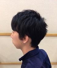 扱いやすいナチュラルショート|美容室/美容院 Run アールアン  平塚のメンズヘアスタイル