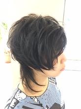 ツーブロックで創る個性派レイヤー|美容室/美容院 Run アールアン  平塚のヘアスタイル