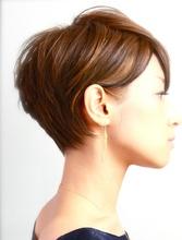 ショートスタイルはハイライト、ローライトの使い方で髪の動きを表現!簡単スタイリングができます!|RENJISHI  吉祥寺店のヘアスタイル