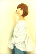 丸みが感じられる柔らかなボブ|RENJISHI  吉祥寺店のヘアスタイル