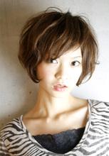 ショートボブはふんわり動きのあるボブスタイル!|RENJISHI AOYAMAのヘアスタイル