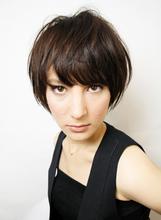 ショートスタイルで気分を変えて新しいオシャレを楽しみたい方!おすすめです。|RENJISHI AOYAMAのヘアスタイル