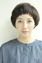 マッシュの丸みとツヤで女子力アップ|ROUGE 目白台店のヘアスタイル