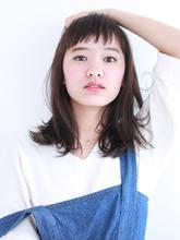 毛先が動くナチュラルストレート!|ROUGE 目白台店のヘアスタイル