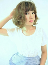 ルーズカールボブ♪ KENZO copineのヘアスタイル
