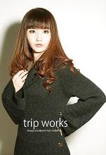 ナチュラルカール|TRIP WORKsのヘアスタイル