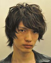 スモーキーMレイヤー|shiangのメンズヘアスタイル