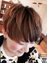 イメチェンショート|Synergyのヘアスタイル
