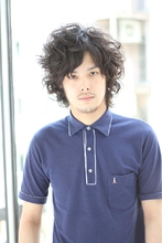 セットも簡単☆スパイラルパーマ|HAIR MAKE Effetのメンズヘアスタイル