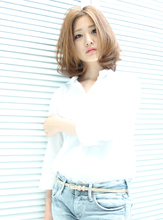 Spring Long Bob|HAIR MAKE Effetのヘアスタイル