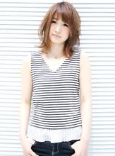 夏ユレ・ミディ|HAIR MAKE Effetのヘアスタイル