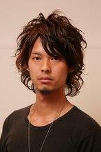 クールパーマ|Hair Atelier DEAR-LOGUE 下北沢 のメンズヘアスタイル